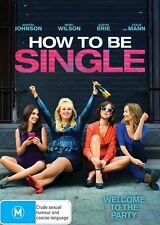 How To Be Single (Dvd) Comedy, Romance Dakota Johnson, Rebel Wilson Movie