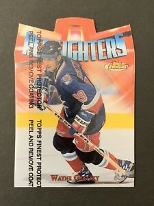 1998-99 WAYNE GRETZKY TOPPS FINEST RED LIGHTERS INSERT #R9 NEW YORK RANGERS