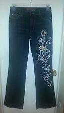 Daniel Original Design Jeans with Gorgeous Sequin Design Size 9/10