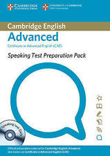 Cambridge SPEAKING TEST PREPARATION PACK for CAE with DVD Teacher Support @NEW@