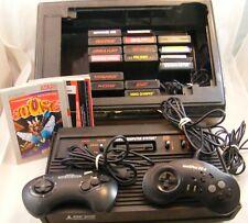 Huge Atari 2600 bundle ! 16 Games , 2 Controllers, Game Center, Original Manual