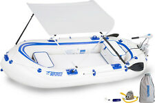 SEA EAGLE SE9 WATERSNAKE MOTOR CANOPY PACKAGE INFLATABLE RUNABOUT BOAT TENDER