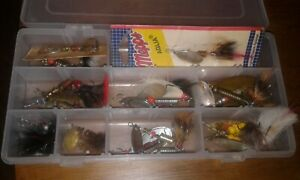 LOT OF 22 Mepps & Mepps copies Spinners Tackle box  Lures, Baits