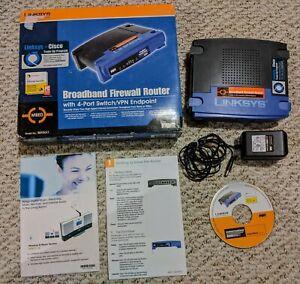 LINKSYS BEFSX41 Broadband Firewall Router w/ 4 Port Switch/VPN Endpoint
