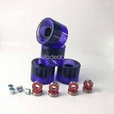 Pu Purple 78A 60*45mm Wheels Abec-9 Bearings Spacers 16pcs Skateboard Parts Set
