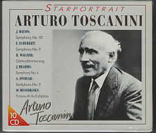 Arturo TOSCANINI - Starportrait / 1993er versiegelte, still sealed 10 CD - Box !