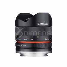 Samyang 8mm f/2.8 UMC Fish-eye II Lens for Fujifilm X