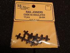 MICRO ENGINEERING #26-084 INSULATED CODE 83 RAIL JOINERS BIGDISCOUNTTRAINS