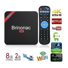 New listing 4K Hd Smart Android 7.1 Tv Box with Amlogic S905W Quad-core (2G Ram 8G Rom)