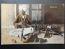 India: Bearer, Cleaning Guns/Riffles Old PC - Pub by Moorli Dhur & Sons, Ambala