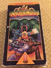 Inhumanoids animated cartoon vhs tape 2 episodes. Very Rare. 80s Cartoon