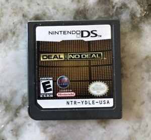 Deal or No Deal Nintendo DS NDS Game
