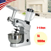 Heavy Duty Stand Mixer 5L 1000W Powerful Motor Classic Plus Meat Grinder *USA*
