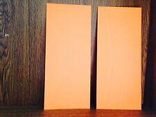 500 Cosmic Orange by Astrobright # 10 business size Envelopes