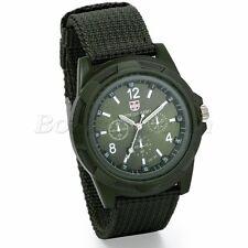 INFANTRY MILITARY Mens Outdoor Sport Army Quartz Analog Wrist Watch Nylon Band