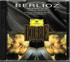 2 CD ALBUM / BERLIOZ - REQUIEM OP.5 , CHARLES MUNCH , HAROLD EN ITALIE OP.16