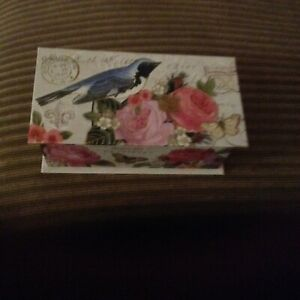 USA MADE PARIS FRANCE BIRD MUSIC BOX Fur Elise tune PUNCH STUDIO NEW