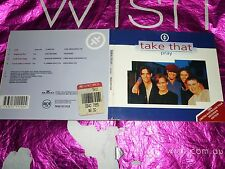 TAKE THAT - PRAY (1994 AUSTRALIAN TOUR SOUVENIR EDITION) (CD, 4 TRACKS, 1993)