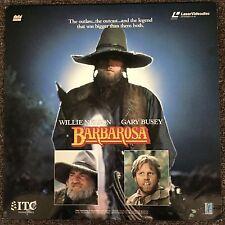 BARBAROSA Laserdisc LD Willie Nelson Gary Busey [J2-6035]
