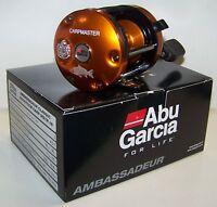 Abu Garcia Ambassadeur 6500TCCM Carp Master 16 Orange Fishing Reel Sweden NIB