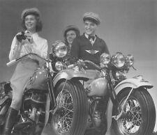 Harley-Davidson EL 61 ci Knucklehead & 45 ci Flathead new 1940 models - motor