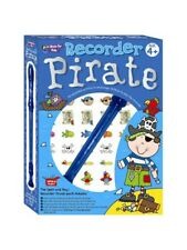 Open and Play Recorder Pirate pack incluant CD & Autocollants Idéal Stocking Filler