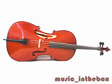 Student Model - 4/4 Solid Wood Cello +Bow + Rosin + Bag