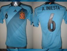 Spain Espana INIESTA Shirt Jersey Football Soccer Adidas Adult Small Real Madrid
