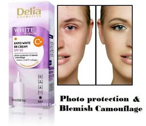 Delia White Fusion C+ Rapid White BB Cream SPF30 for Hyperpigmented Skin 15 ml