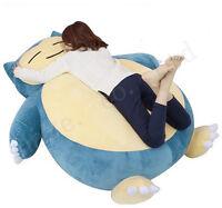 Pocket Monster Pokémon Giant Snorlax  Plush PP Cotton Stuffed Doll Toys Cushion