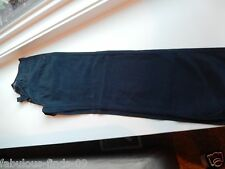 Men's Sebago Chinos Navy trouser deck pant W: 32 L: 32 32X32 button fly New NWOT