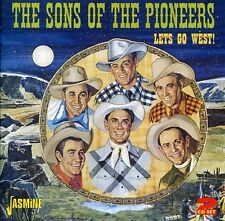Lets Go West - 2 DISC SET - Sons Of The Pioneers (2011, CD NEUF)