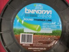 Bynorm Round Trimmer Line 2.00mm X 558m 380-014 WHIPPER SNIPPER CORD NEW 2kg