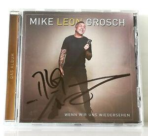 Mike Leon Grosch CD signiert Wenn wir uns wiedersehen Das Schlager Album 2021