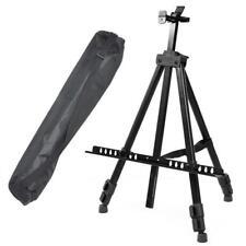 Staffelei Atelierstaffelei Feldstaffelei Dreifuss Stand +Tasche bis 12kg schwarz