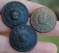 obsolete police force buttons