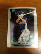 (10) Chris Taylor 2014 Bowman Chrome RC lot ALL chrome BCP140 Dodgers