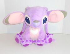 "Genuine Disney Parks Pink ANGEL Lilo & Stitch Plush Big 12"" Experiment 624"