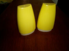 Vintage Collectable Salt and Pepper Shakers Beautiful Retro Yellow