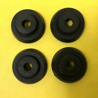Pioneer Turntable Parts: 4 Rubber Feet Fits PL-600 & Others.