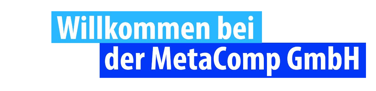 MetaComp eBay Shop
