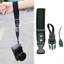 Camera Non-slip Hand Strip Grip Black for Canon EOS Nikon Sony Olympus SLR/DSLR