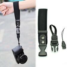 Camera Hand Grip For Canon EOS Nikon Sony Olympus SLR/DSLR Cloth Wrist Strap LE