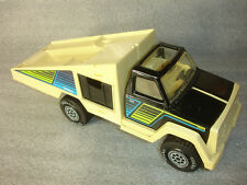 1978 Collectible Old Vtg Tonka Toy Car Carrier Flatbed Tow Truck with Ramps