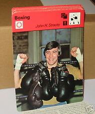 John H. Stracey Boxe Carte de collection