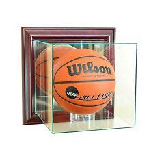 Wall Mounted New F/S Basketball Display Case NCAA NBA
