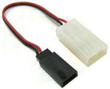 """Futaba Female Connector To Tamiya Connector # 24 PVC, 4"""" Cable."""