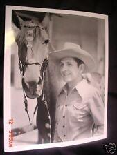 Bob Steel OLD Western COWBOY Movie Star PHOTO from Glass Negative