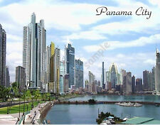 PANAMA CITY, PANAMA Travel Souvenir Fridge Magnet