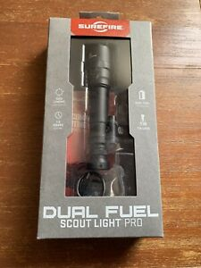 SureFire M640DF Scout Light PRO Dual Fuel 1500 Lumens Black M640DF-BK-PRO